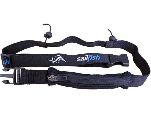 sailfish Racenumberbelt Pocket, czarny